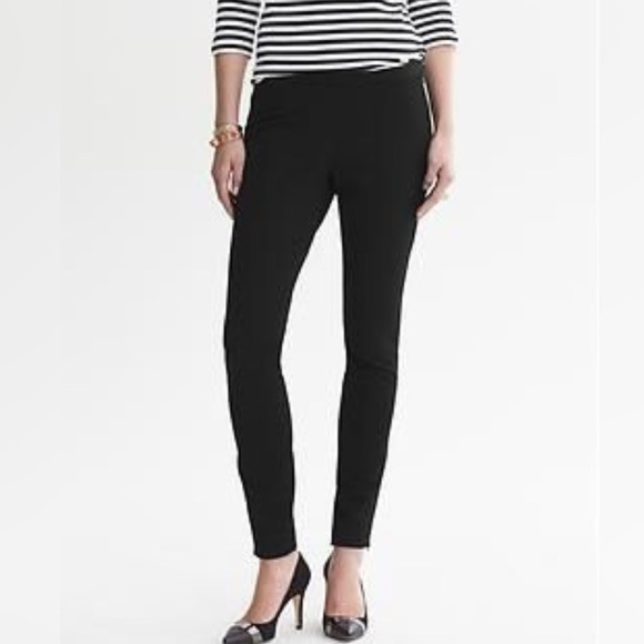 Banana Republic Pants - BANANA REPUBLIC BLACK SKINNY ANKLE PANTS